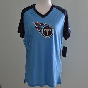 Nike Tennessee Titans Baseball Style T-Shirt